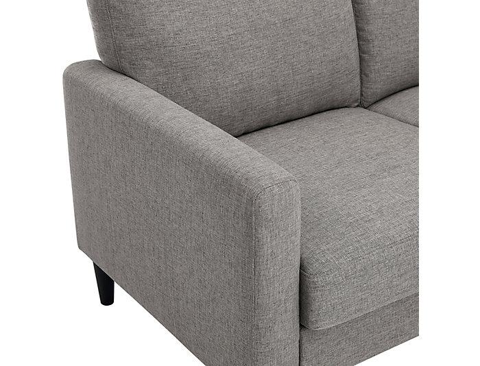Houlihan Grey Sectional, , large