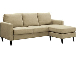 Piper Beige Sofa with Chaise, , large