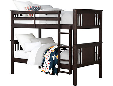 Dylan Twin Espresso Bunk Bed, , large