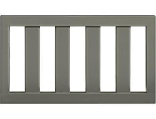 Teri Dark Grey Toddler Rail, , large