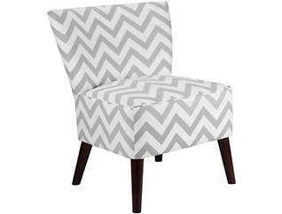 Grendale Accent Chair, Grey Chevron, , large