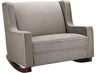 Hadley Taupe Double Rocker, , large