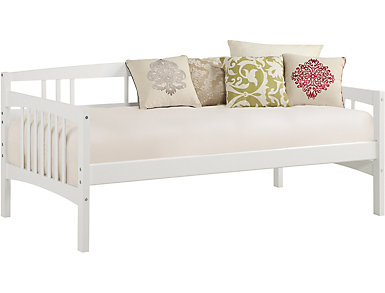 Kayden Twin White Daybed, , large