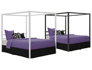Modern Queen Canopy Collection, , large