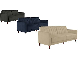 Pin Tufted Futon Collection, , large