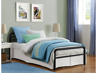 Slat Metal Bed Collection, , large
