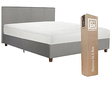 Maddie Queen Bed and Mattress, , large
