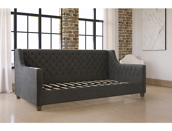 Jordyn Twin Grey Daybed, , large