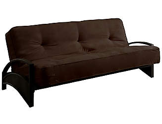 alessa brown sofa futon set clearance  u0026 discount futons   art van furniture  rh   artvan