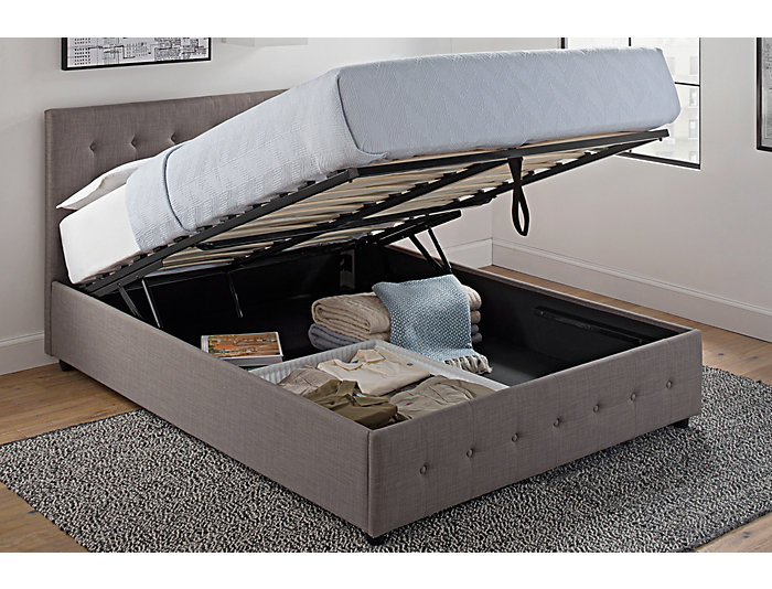 Cambridge Full Storage Bed, , large