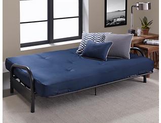 Vermont Cobalt Sofa Futon Set, , large