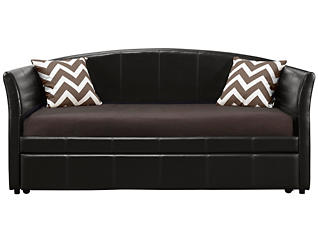 Halle Brown Daybed and Trundle, , large