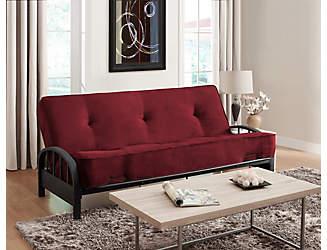 aiden merlot sofa futon set clearance  u0026 discount futons   art van furniture  rh   artvan