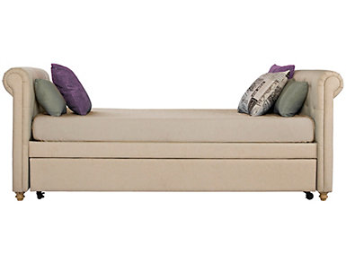 Sophia Beige Daybed and Trundle, Beige, large