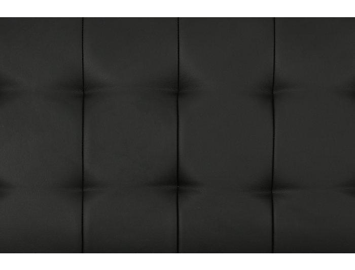 Emily Black Sofa Futon, , large