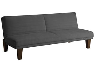 Dillon Grey Sofa Futon, , large