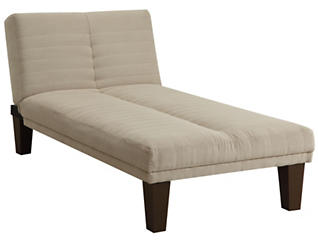 Dillon Tan Microfiber Chaise, , large
