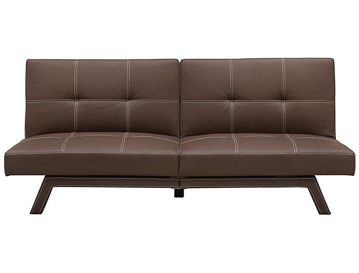 Sensational Delaney Brown Sofa Futon Beatyapartments Chair Design Images Beatyapartmentscom