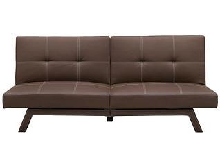 Delaney Brown Sofa Futon, , large