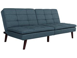Westbury Navy Sofa Futon, , large