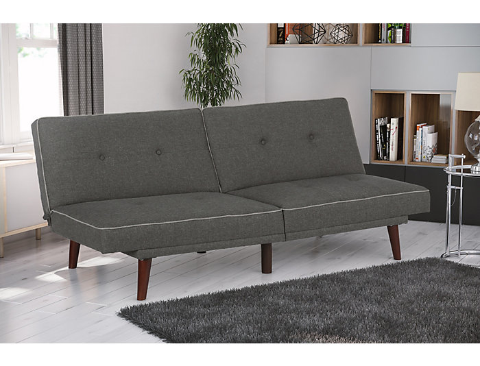 Olivia Memory Foam Sofa Futon, , large