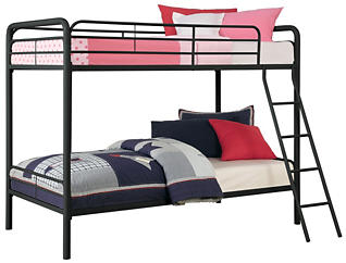 Twin Over Twin Bunk Bed, , large