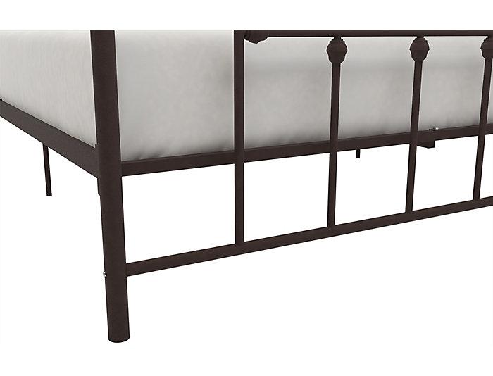 Manila Metal Queen Bronze Bed, , large