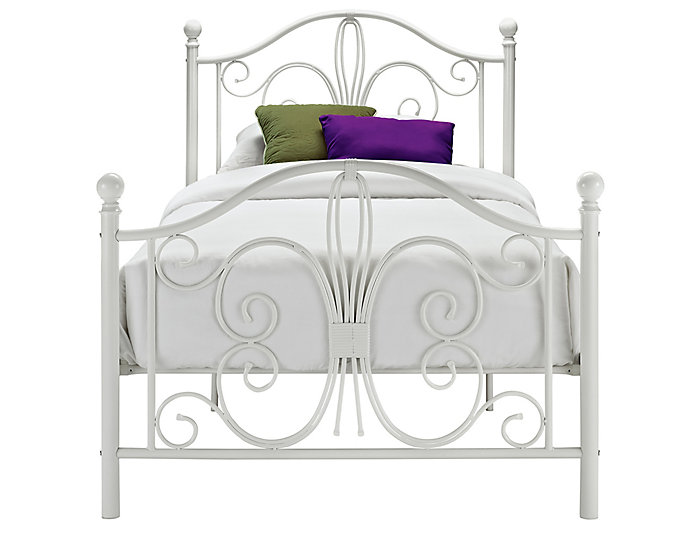 Bombay Twin Metal Bed, , large