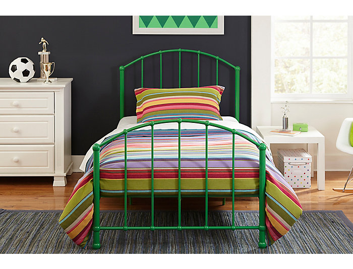 BrickMill Ivy Twin Metal Bed, , large