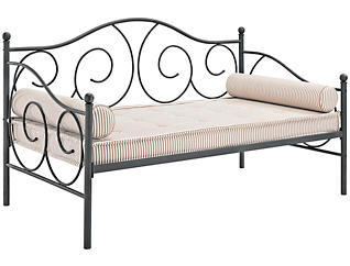 Victoria Silver Metal Daybed, , large