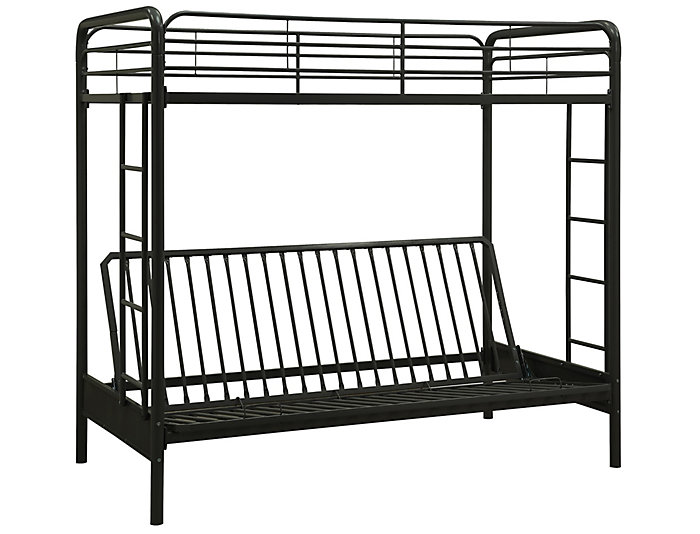 Twin Over Futon Bunk Bed, , large
