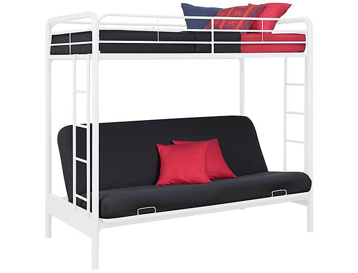 Twin Over Futon Bunk Bed Art Van Home