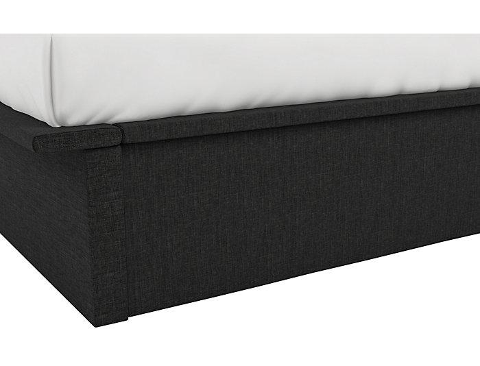 Maven Full Grey Platform Bed, , large