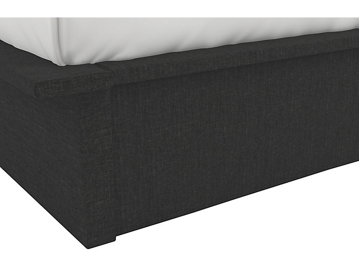 Maven Queen Grey Platform Bed, , large