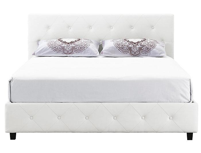 Dakota Full Upholstered Bed, , large