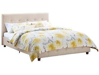 Rose Queen Upholstered Bed, , large