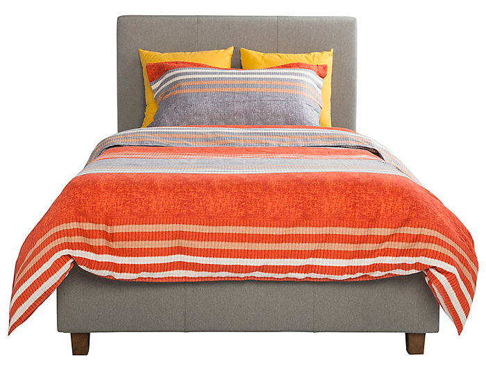 Maddie Twin Upholstered Bed, , large