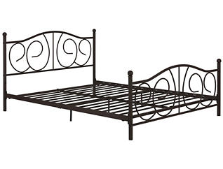 Victoria Full Metal Bed, , large