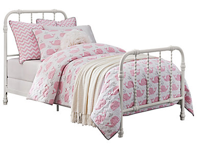 Jenny Twin Metal Bed, , large