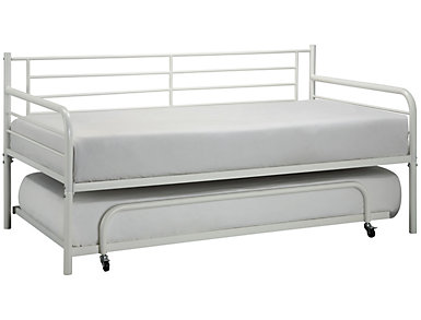 Ryan White Metal Twin Daybed, , large