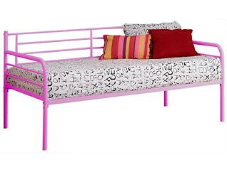 Ryan Pink Twin Metal Daybed, , large