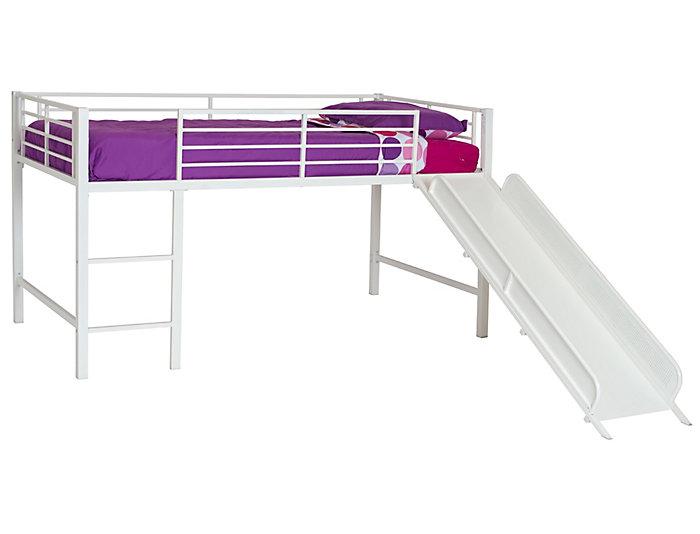 Junior Loft with White Slide, , large