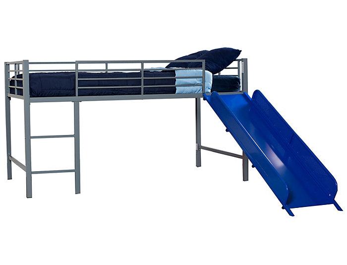 Junior Loft With Blue Slide, , large