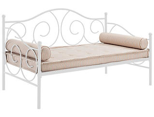 Victoria White Metal Daybed, , large