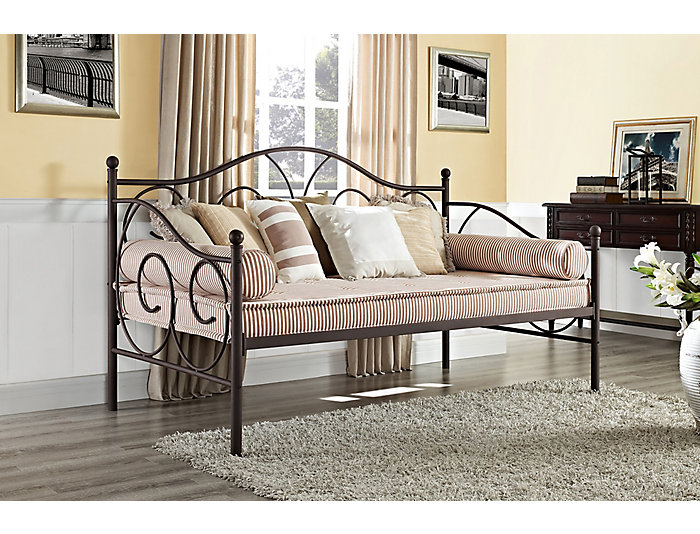 Victoria Bronze Metal Daybed, , large