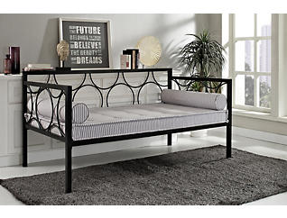 Rebecca Black Metal Daybed, , large