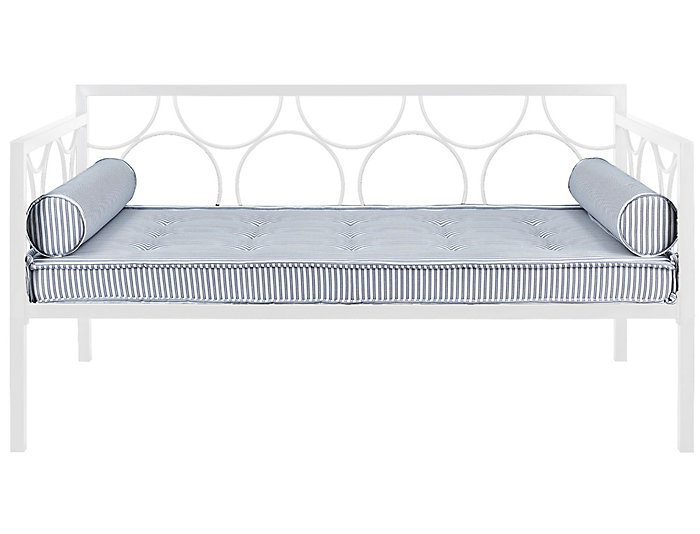 Rebecca White Metal Daybed, , large