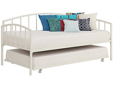 Universal White Trundle, , large