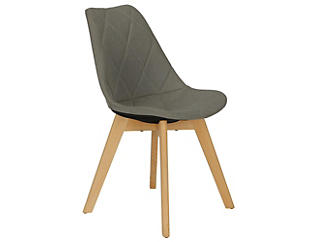 Brisbane Grey Dining Chair, , large