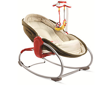3-in-1 Rocker-Napper - Brown, , large